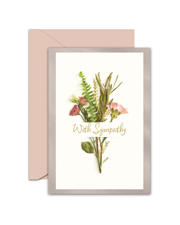Greeting Card - GC2916-HAL078 - With Sympathy