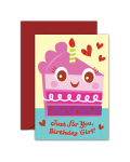 Greeting Card - GC2916-HAL080 - Just For You Birthday Girl