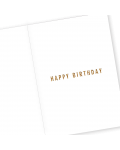 Greeting Card - GC2916-HAL082 - BEST.YEAR.YET - HAPPY BIRTHDAY