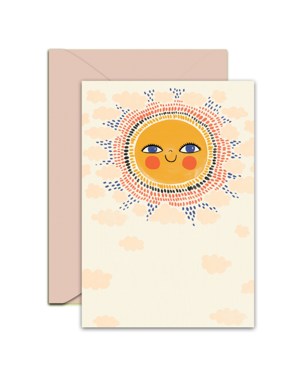 Greeting Card - GC2916-HAL089 - Just sending you a litlle sunshine!