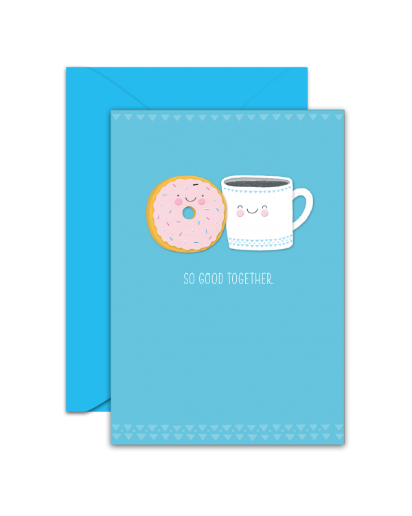 Greeting Card - GC2916-HAL090 - SO GOOD TOGETHER