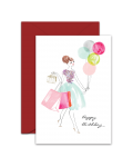 Greeting Card - GC2916-HAL091 - Happy Birthday