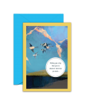 Greeting Card - GC2916-HAL092 - Wishing you a day that goes in whatever direction you want...