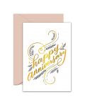 Greeting Card - GC2916-HAL094 - Happy Anniversary
