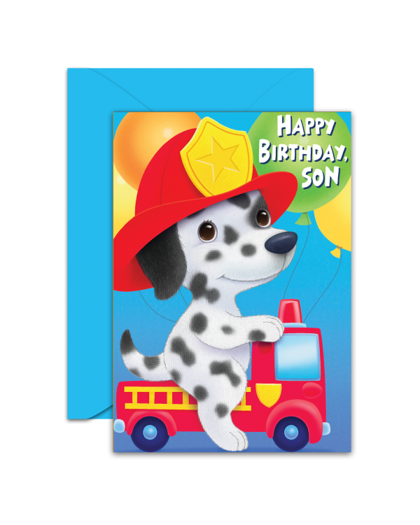 Greeting Card - GC2916-HAL095 - HAPPY BIRTHDAY SON