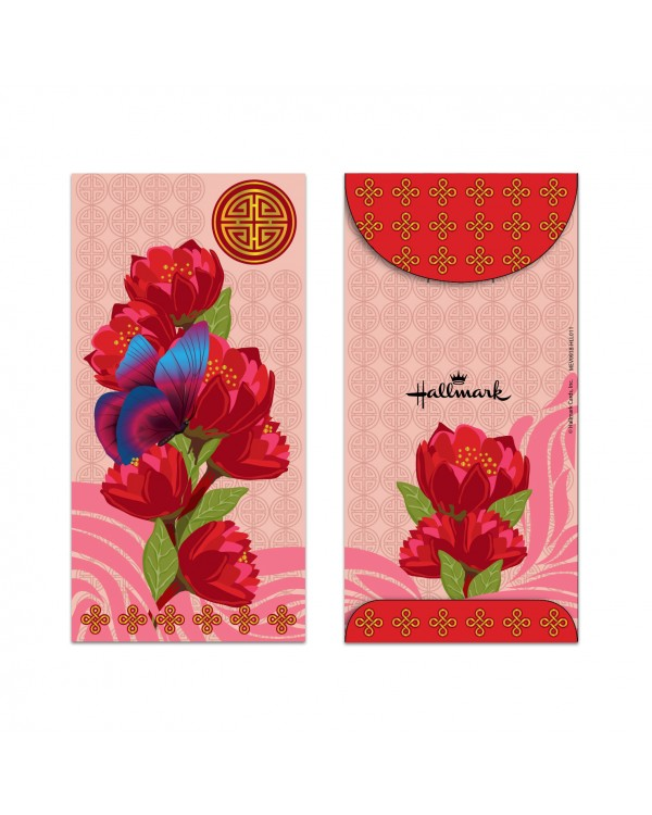 Money Envelope Large - MEV0918-HLL011 - Lunar New Year - Double Happiness