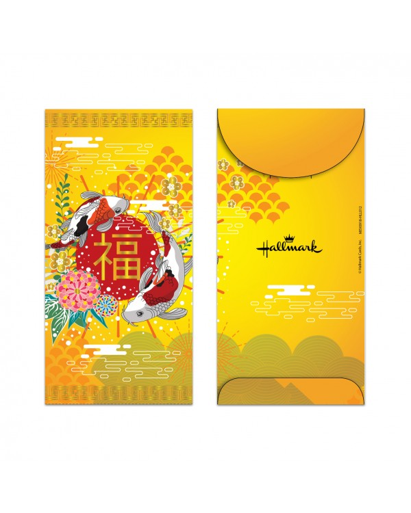 Money Envelope Large - MEV0918-HLL012 - Lunar New Year - Fortune