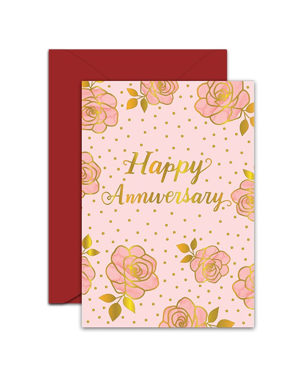 Greeting Card - GC2916-HAL001 - Happy Anniversary