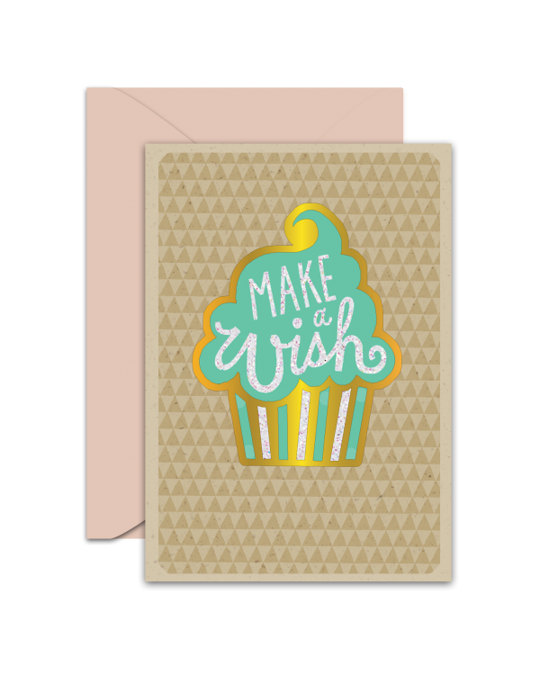 Greeting Card - GC2916-HAL008 - Make A Wish