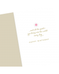 Greeting Card - GC2916-HAL009 - Celebrating The Wonderful Woman You Are...