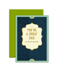 Greeting Card - GC2916-HAL016 - YOU'RE A GREAT DAD.