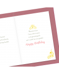 Greeting Card - GC2916-HAL021 - MOM. Happy Birthday