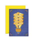 Greeting Card - GC2916-HAL024 - HOW IS A SON LIKE YOU DIFFERENT FROM A LIGHTBULB