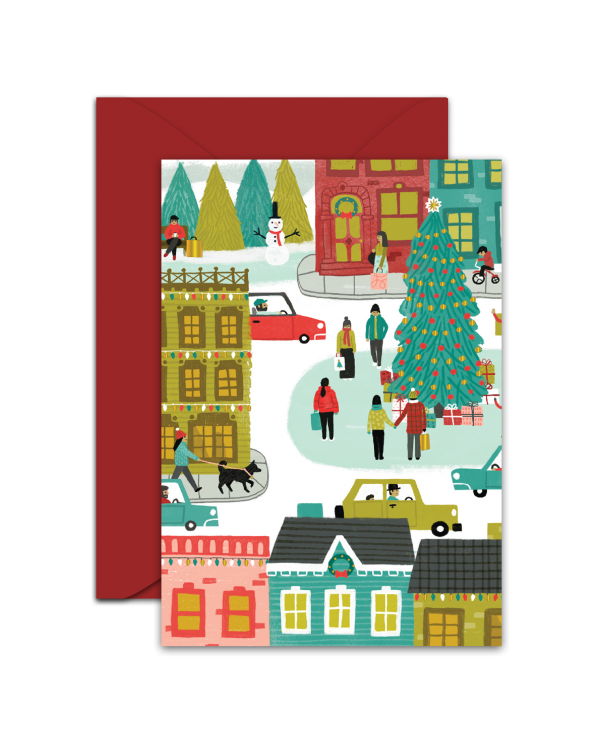 Greeting Card - GC2916-HAL047 - Merry everything. Merry everywhere.