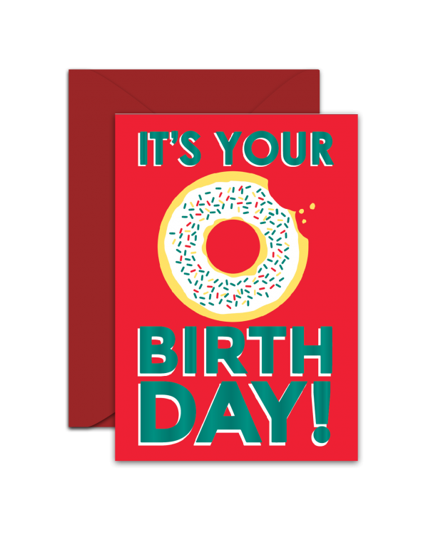 Greeting Card - GC2916-HAL052 - IT'S YOUR BIRTHDAY