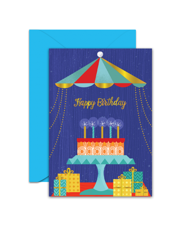 Greeting Card - GC2916-HAL053 - Happy Birthday