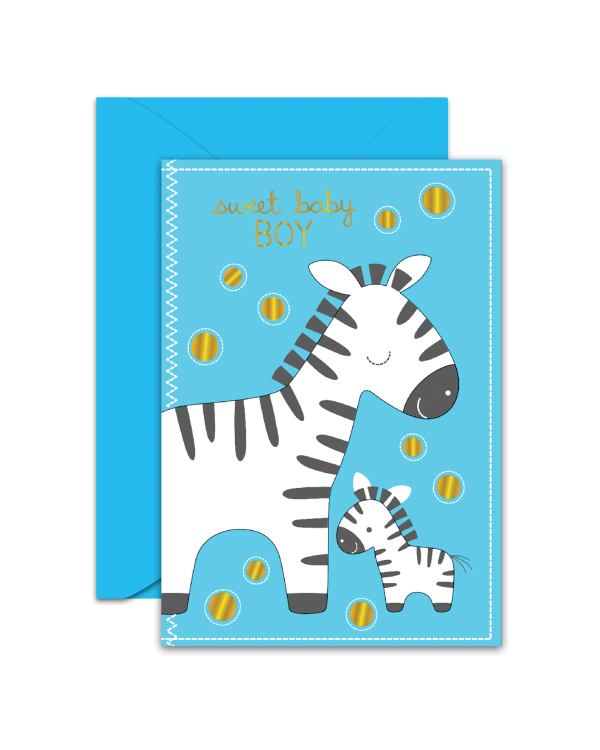 Greeting Card - GC2916-HAL054 - sweet baby BOY