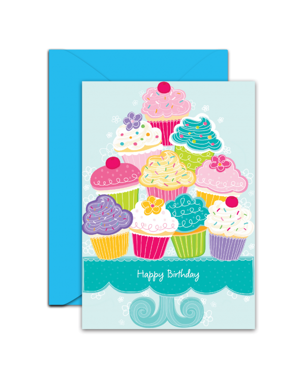 Greeting Card - GC2916-HAL059 - Happy Birthday