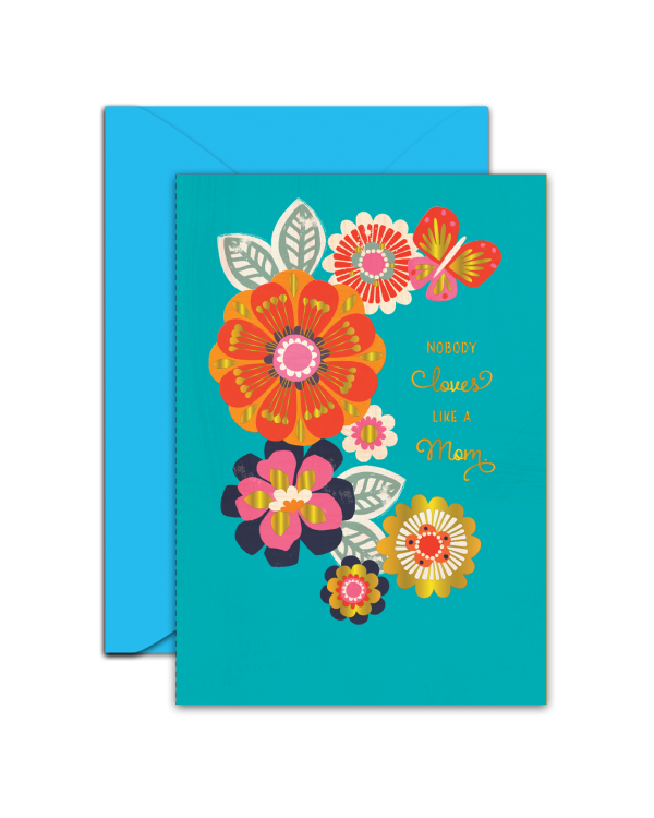 Greeting Card - GC2916-HAL063 - NOBODY LOVES LIKE A MOM