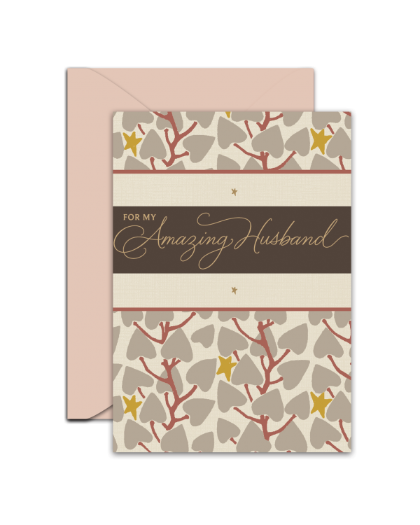 Greeting Card - GC2916-HAL064 - FOR MY Amazing Husband