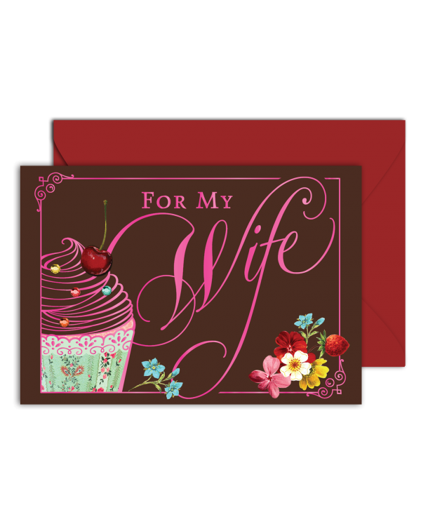 Greeting Card - GC2916-HAL068 - FOR My Wife
