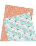 Wrapping Paper - WP4964-HAL007 - Be Cozy, Be Comfy